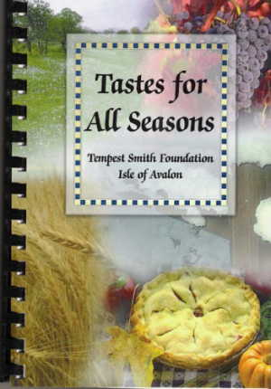 Tastes for All Seasons cookbook cover